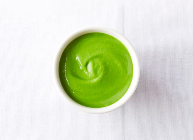 How to make a pea purée