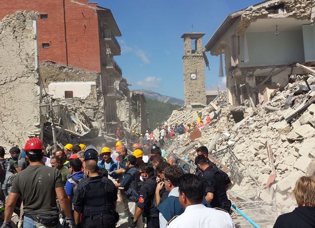 The Amatrice earthquake: how you can help