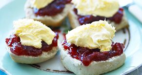 Win a luxury Rodda's Cornish cream tea hamper with sparkling wine