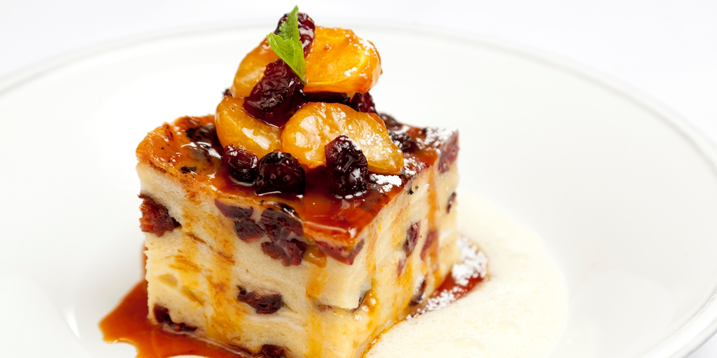 Orange And Chocolate Bread Pudding