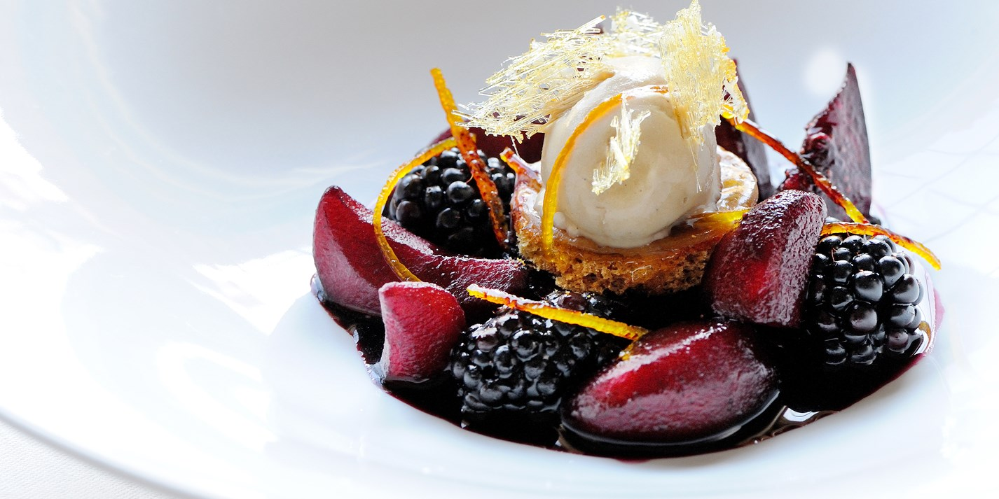 mulled winter fruits recipe great british chefs