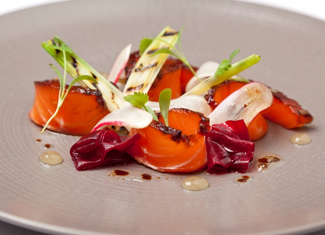 Treacle Cured Salmon Recipe Great British Chefs