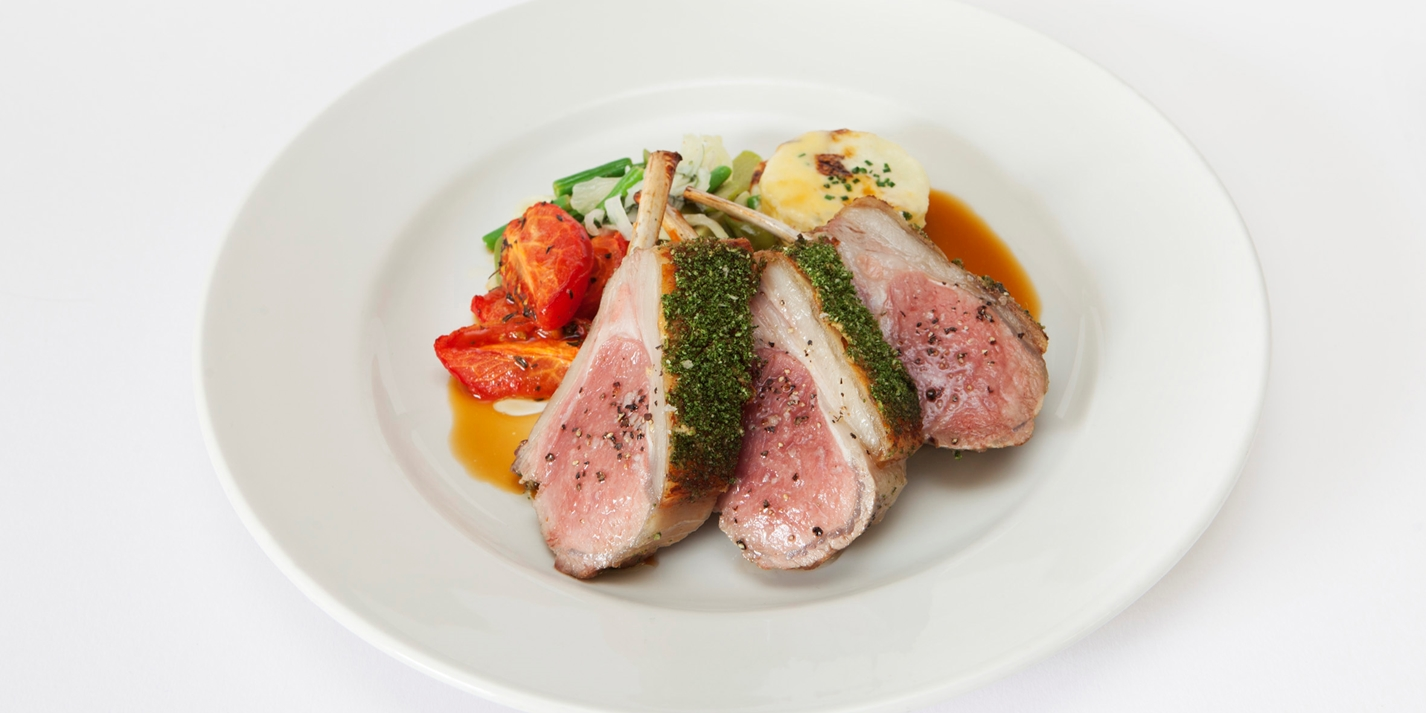 crusted lamb rump recipe great british chefs. Black Bedroom Furniture Sets. Home Design Ideas